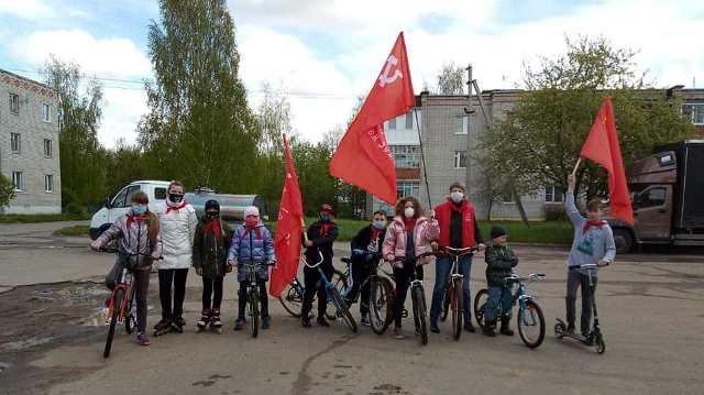 В Ярославском районе прошел велопробег, посвященный Дню пионерии!