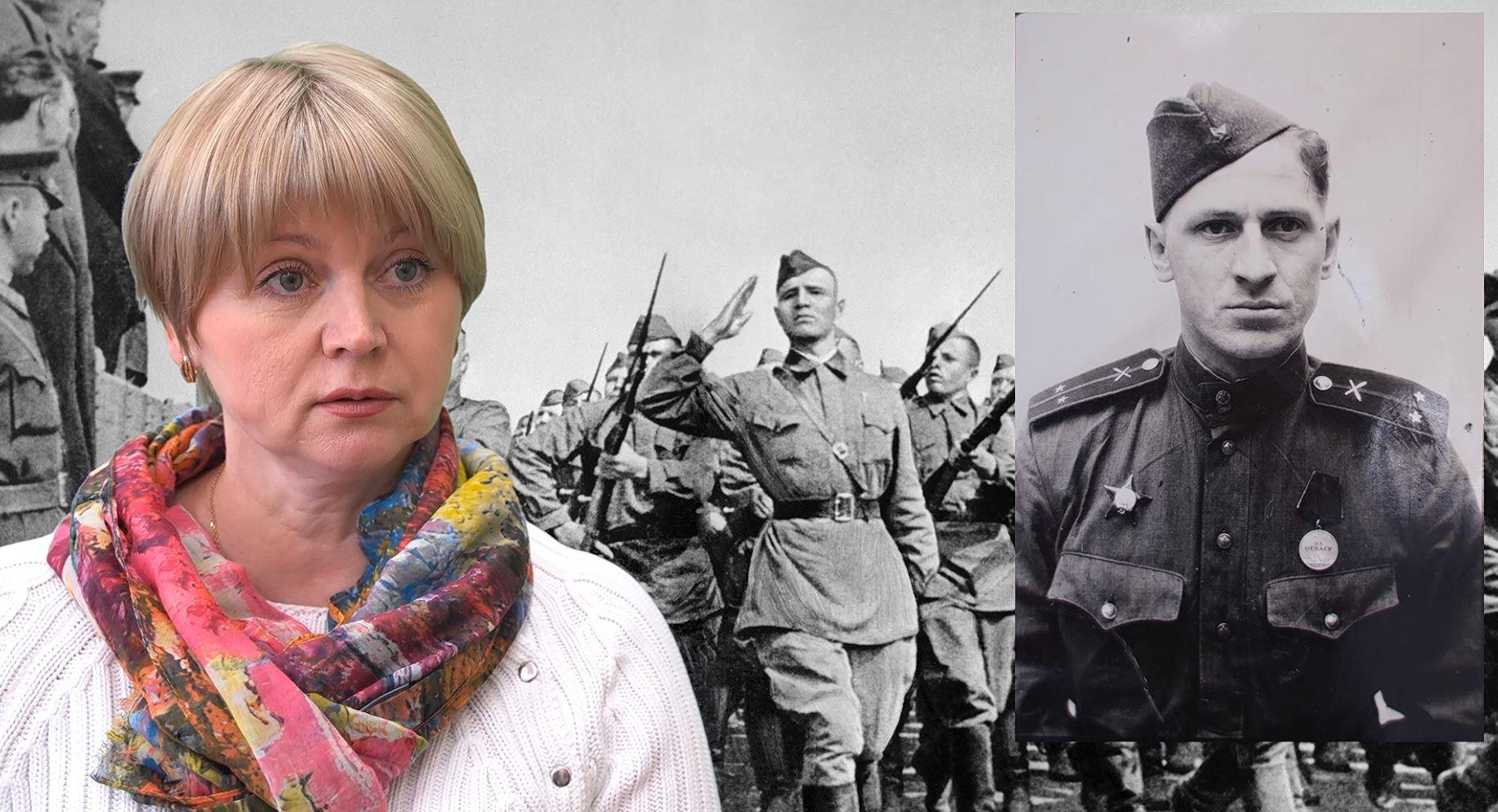 Депутат КПРФ Елена Кузнецова рассказывает о своем дедушке, прошедшем всю войну до Берлина