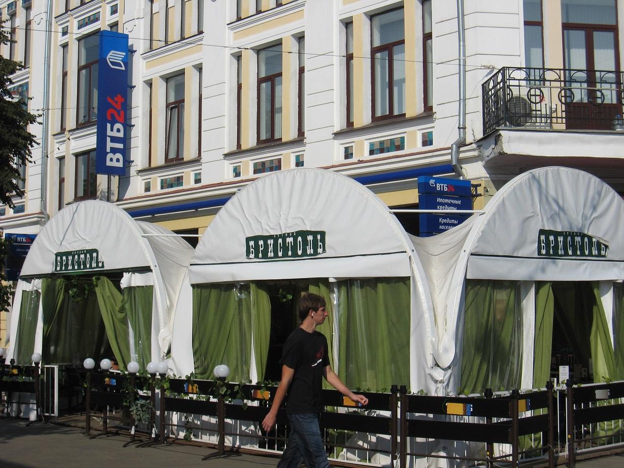 С 20 июня в Ярославле открываются летние кафе