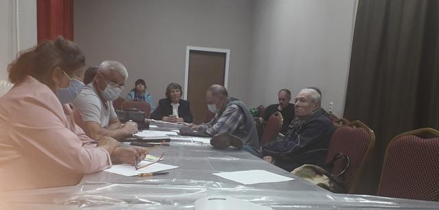 В Ленинском районном отделении КПРФ прошла отчетно-выборная Конференция