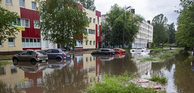 Ярославль в очередной раз «ушел под воду»