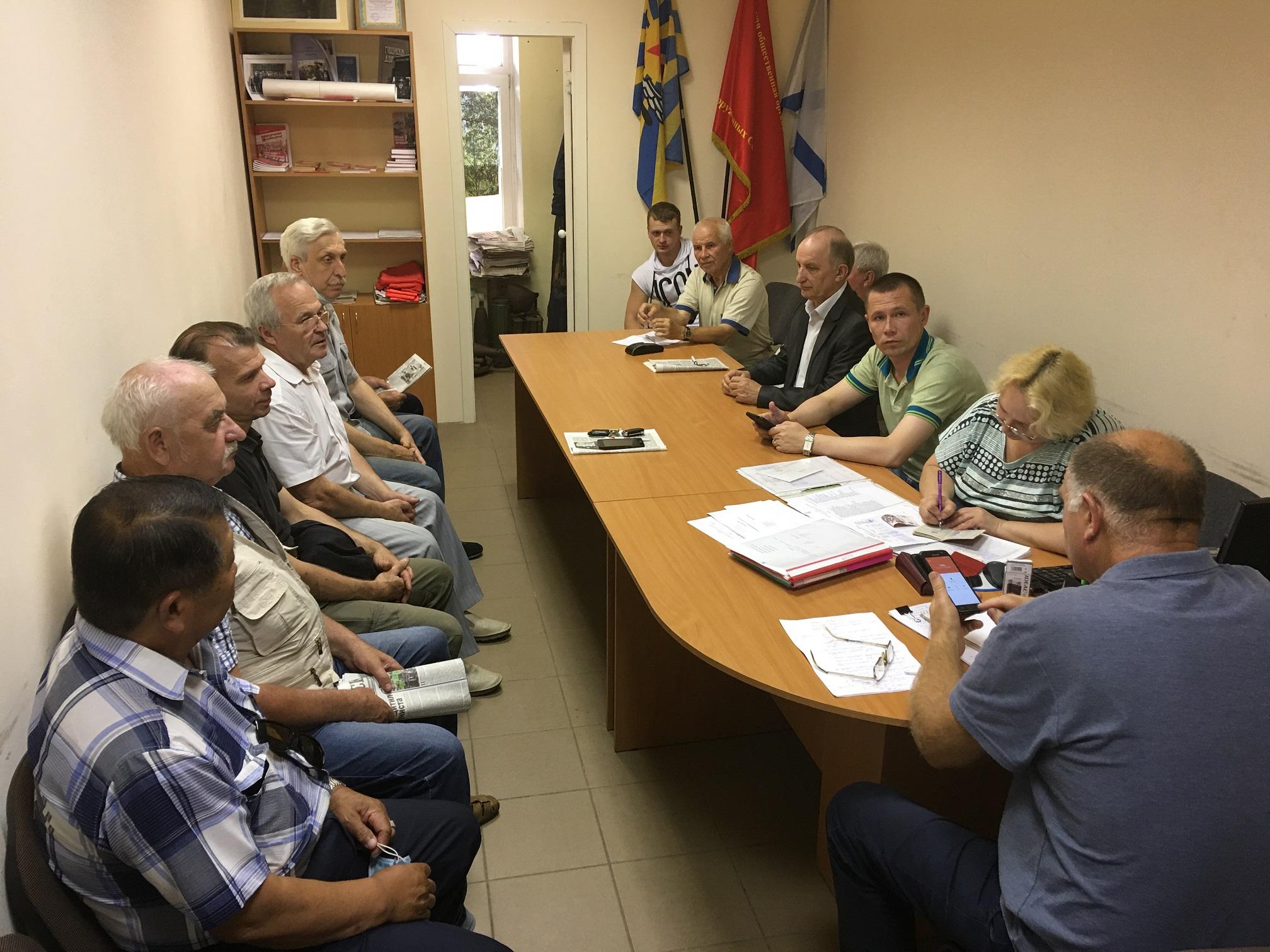 Состоялось отчетно-выборное собрание Фрунзенского райкома КПРФ