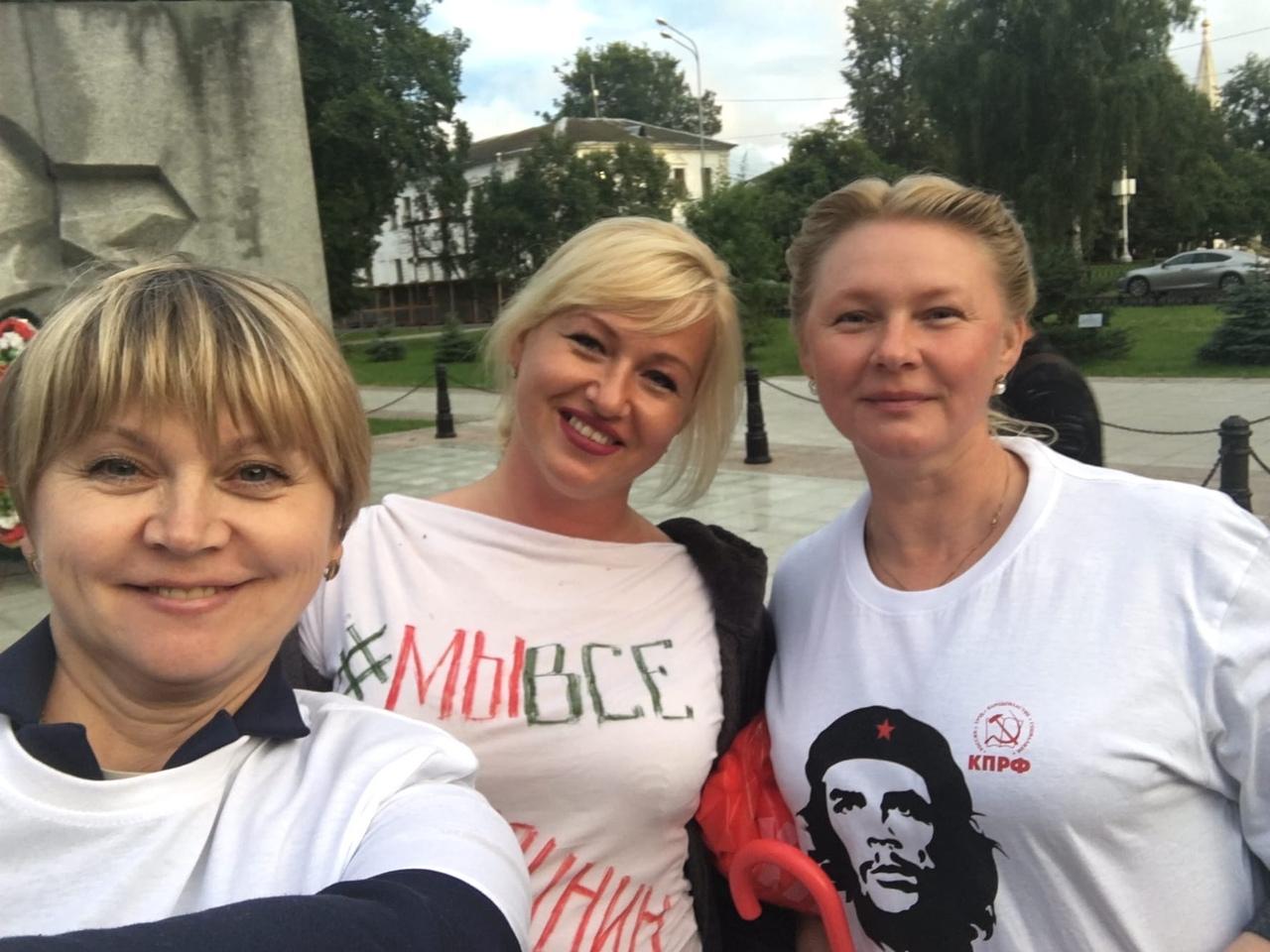 Ярославские коммунисты провели акцию в защиту Совхоза имени Ленина