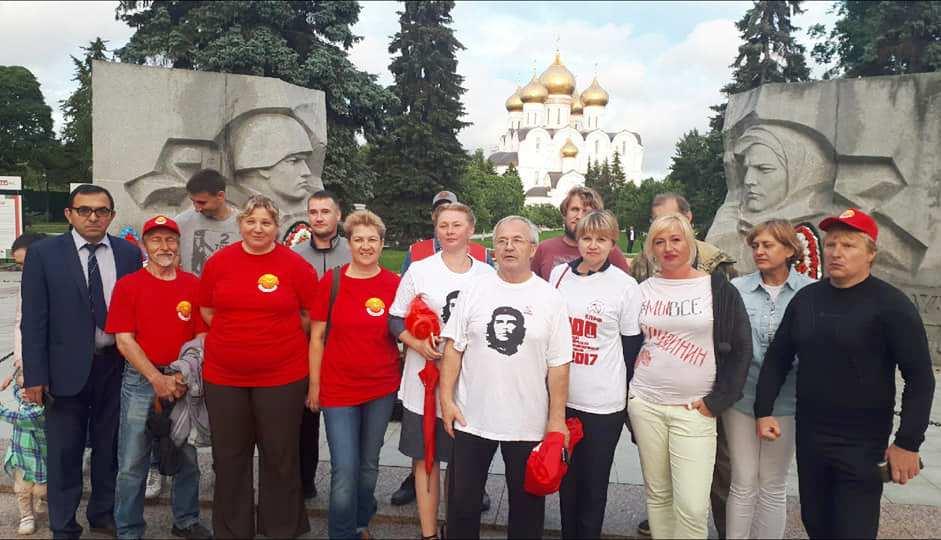 Ярославские коммунисты на первой полосе «Правды»