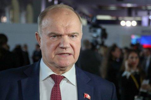 Геннадий Зюганов выступил на телеканале Россия 24