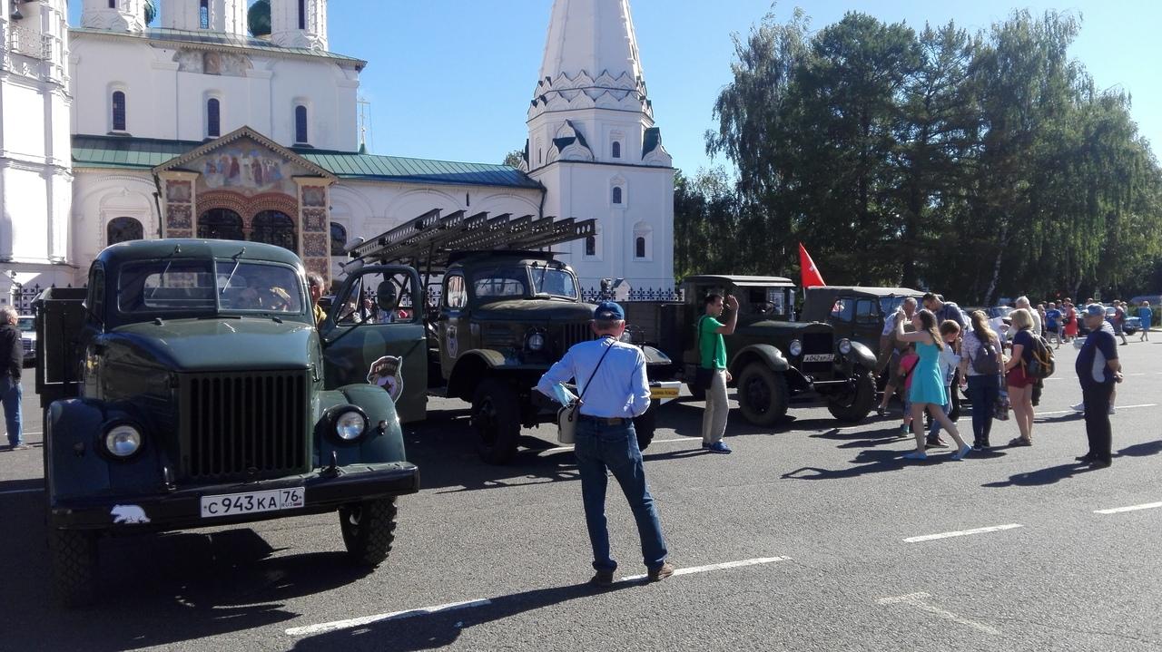 В Ярославской области стартовал автопробег, приуроченный к 75-летию Победы!