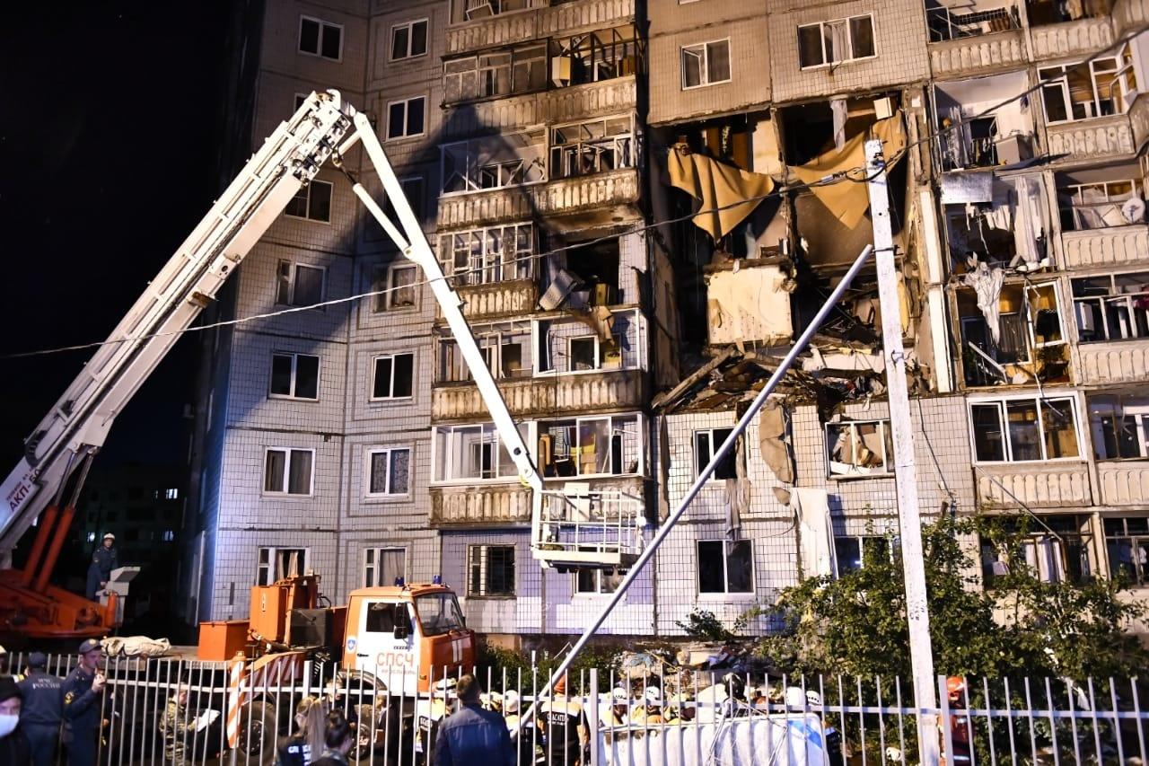 ГУМАНИТАРНАЯ ПОМОЩЬ для жителей разрушенного от взрыва газа дома в Ярославле