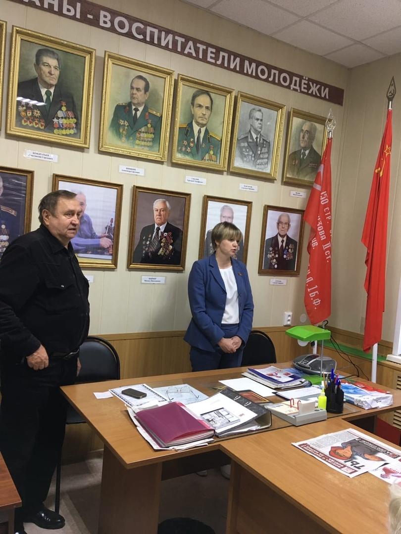 Елена Кузнецова провела встречу с членами президиума городского Совета ветеранов