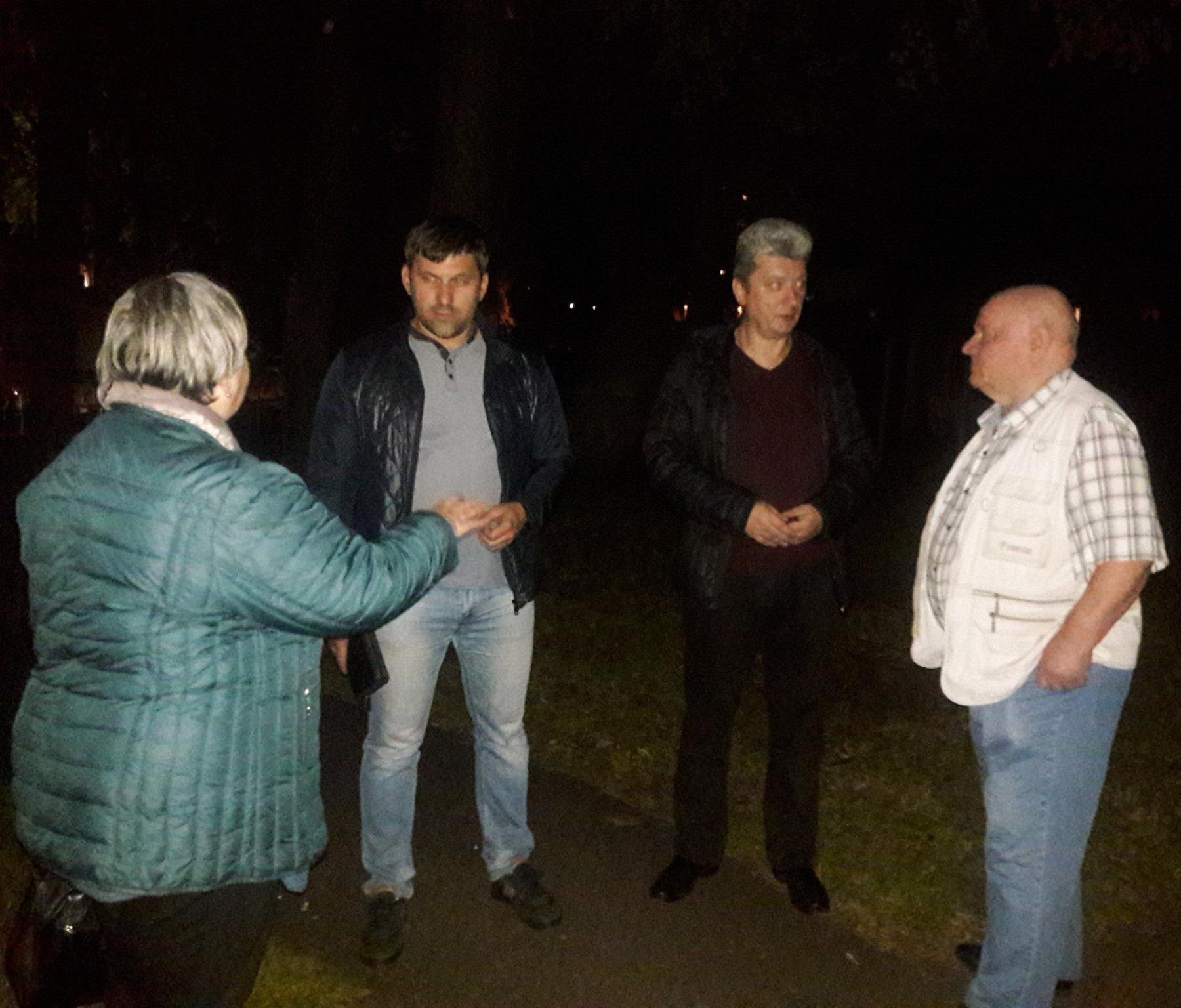 Депутаты-коммунисты встретились с жителями дома на ул.Рыбинской