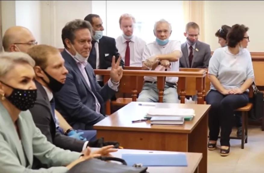Судилище над Платошкиныи — часть расправы над левой оппозицией