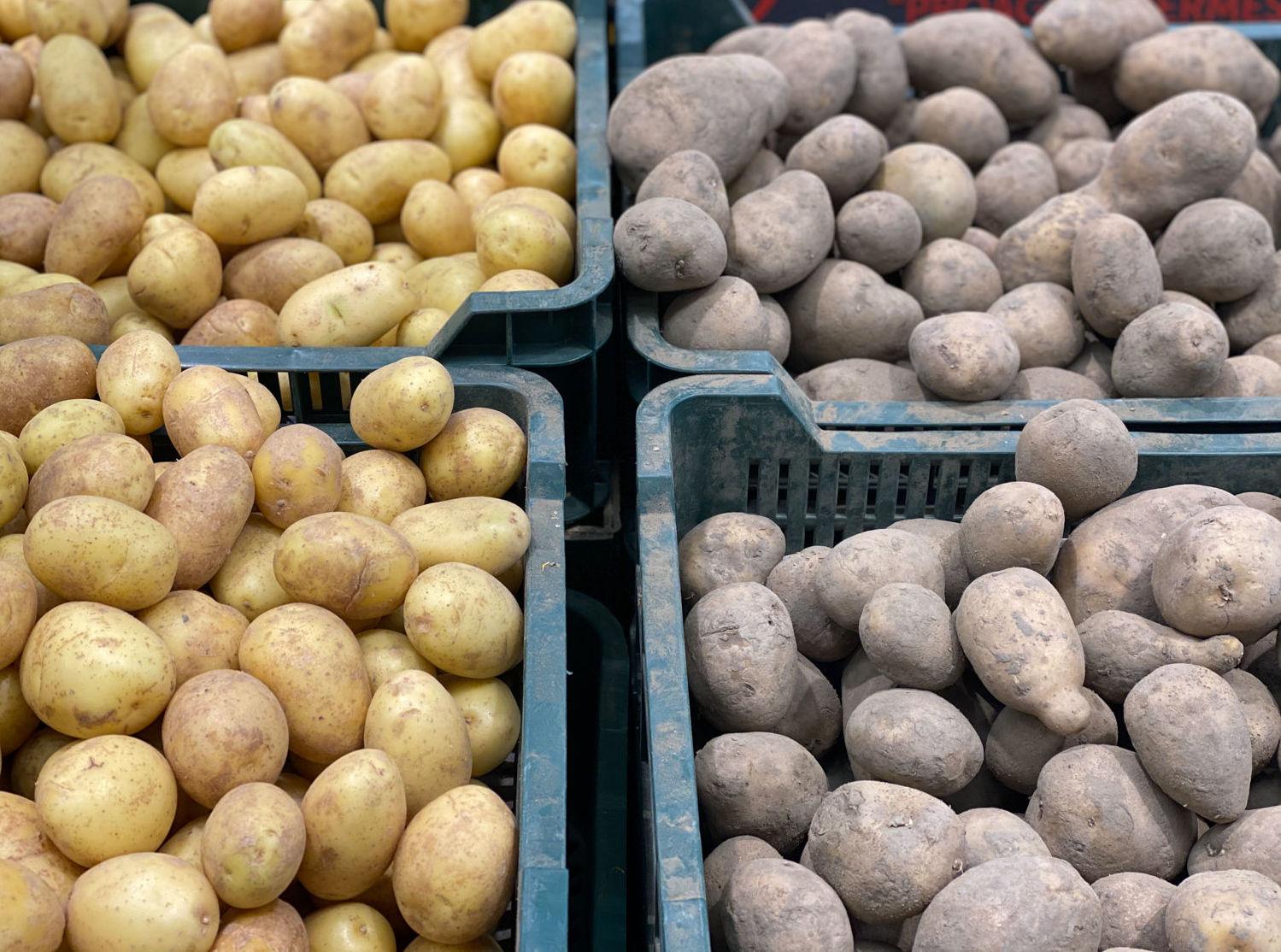 Почём будет картофель?