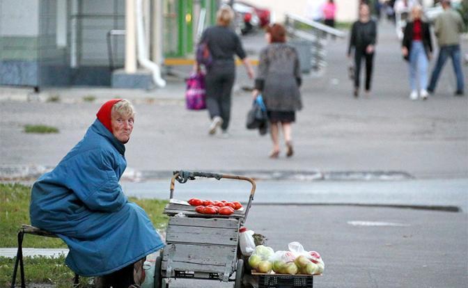 Число нищих в России достигло рекорда за 14 лет