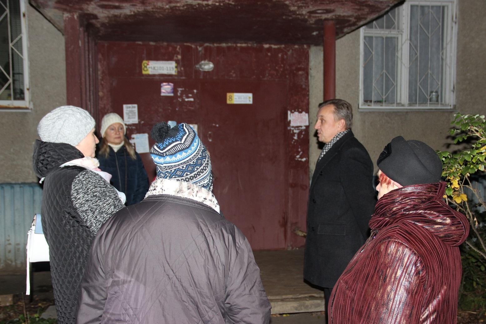 Жители Дзержинского района попросили о помощи — Валерий Байло пришел на встречу