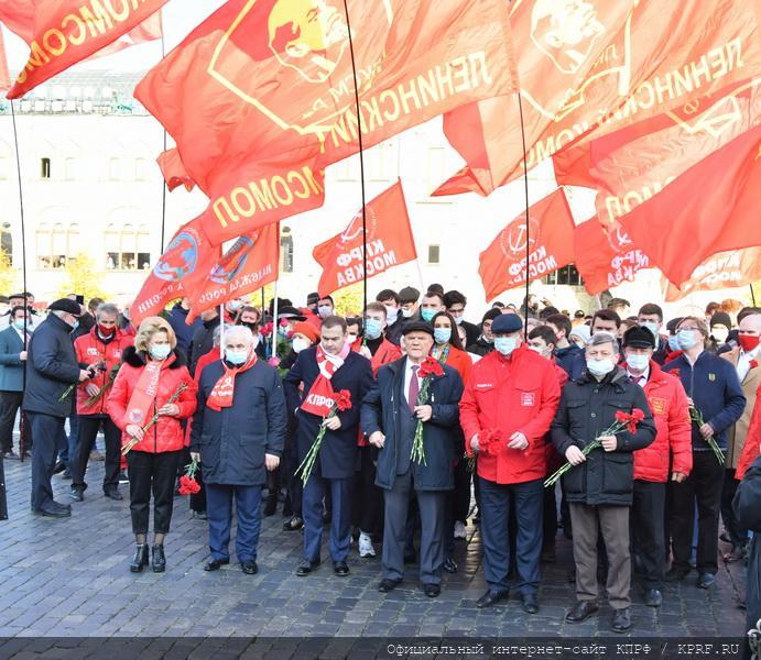Г.А. Зюганов: «Мы продолжаем лучшие традиции Ленинского комсомола» (видео)