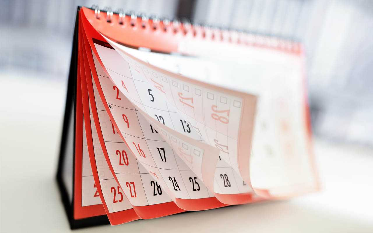 11 дней календаря