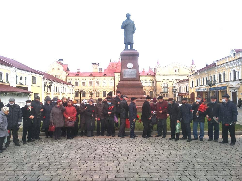 День Великого Октября в Рыбинске