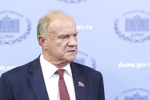 Геннадий Зюганов заявил, что в будущем году власть должна провести честные выборы