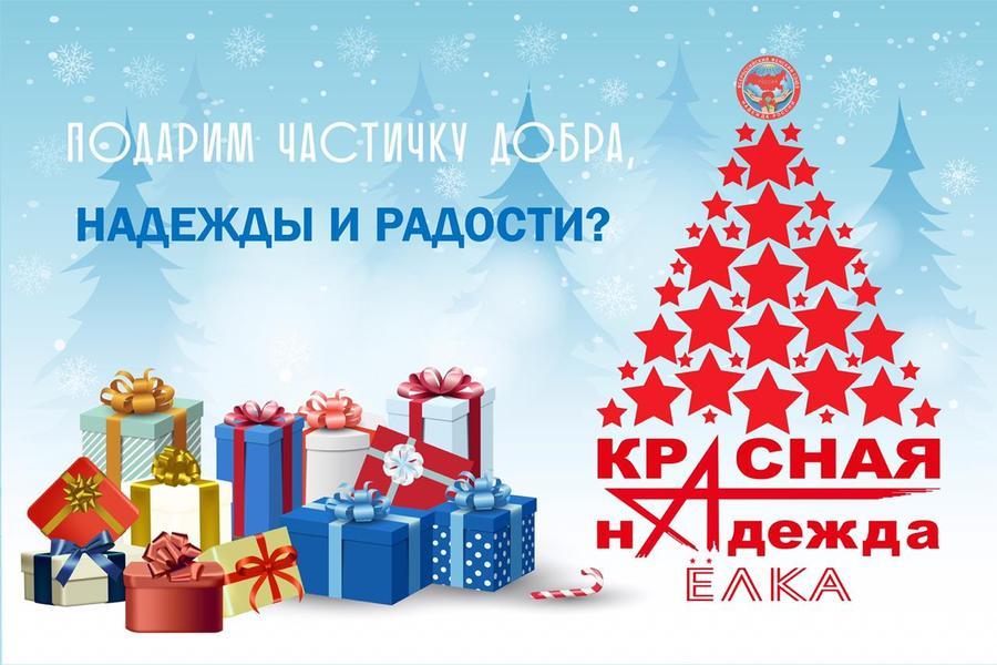 Стартовала общероссийская благотворительная акция «Красная елка надежды»