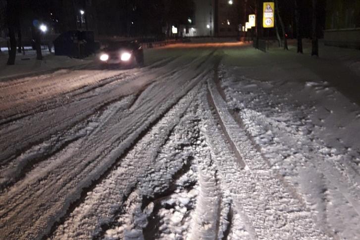 В Ярославле не чистят улицы от снега