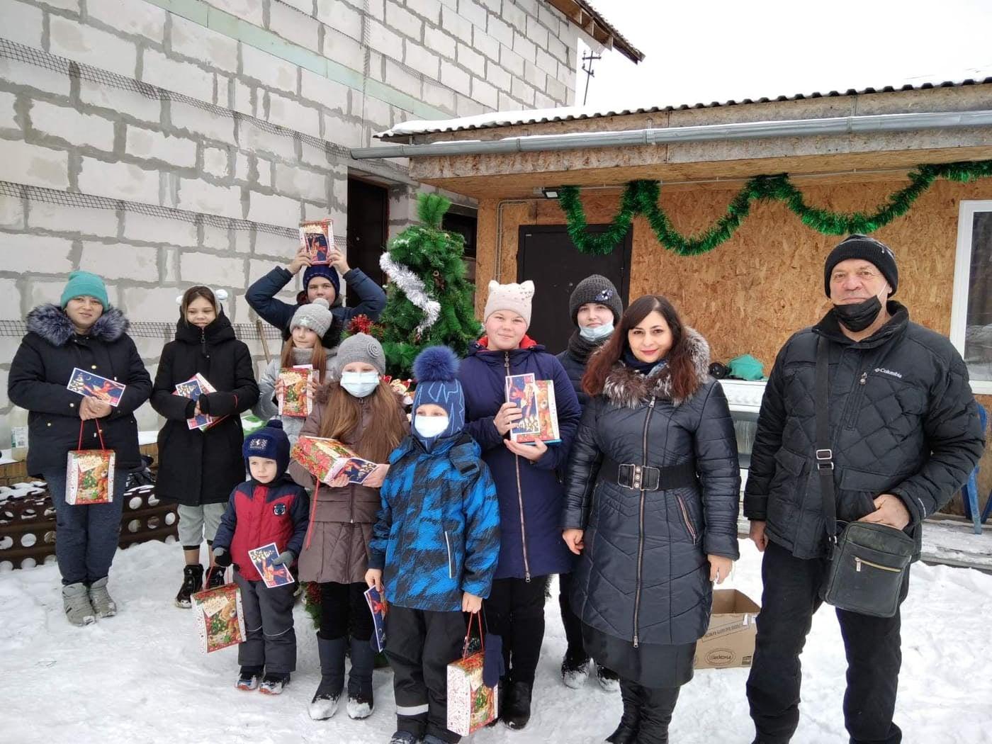 Новогодние подари КПРФ для детей Красноперекопского района