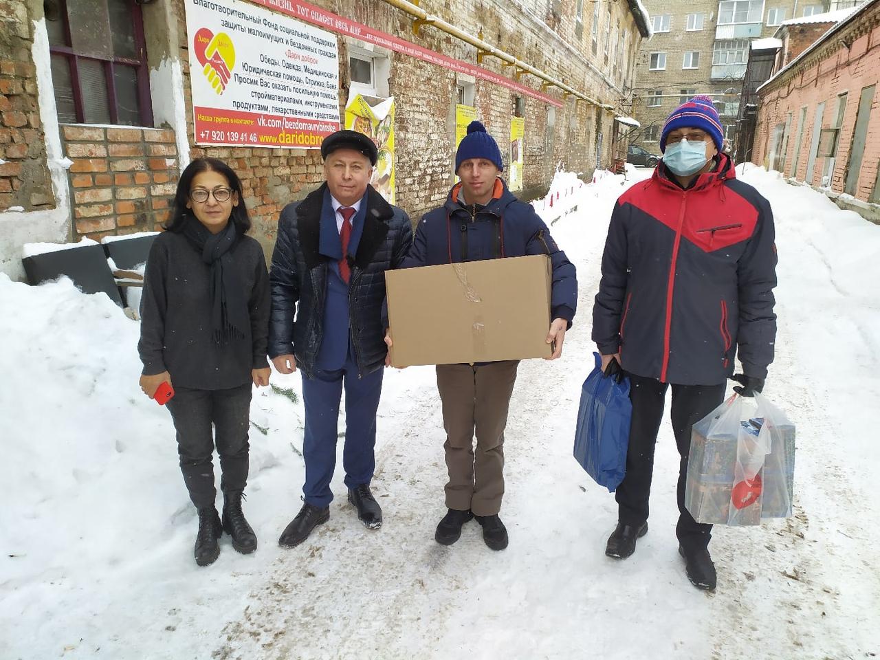 Депутаты-коммунисты оказывают помощь социально-значимым учреждениям г. Рыбинска