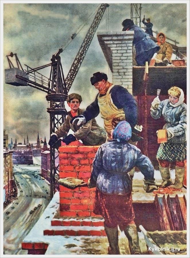 Почему Советская власть строила «быстро и дешево», или как «Рыбинские известия» снова отметились в антисоветчине