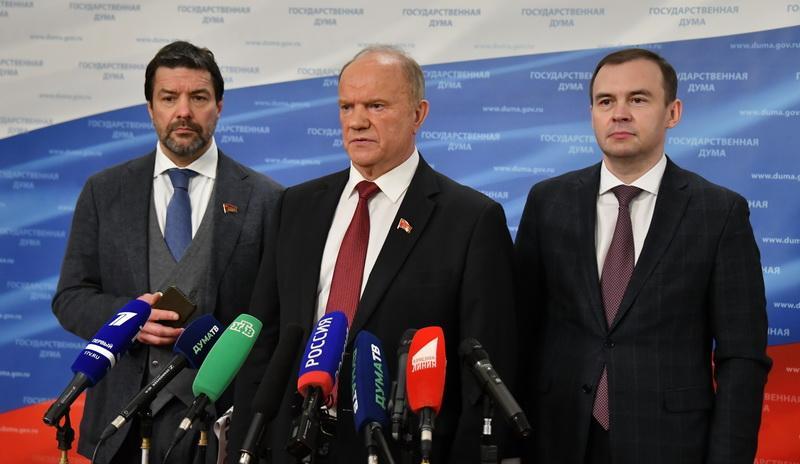 Г.А. Зюганов: «В социальной сфере полшага сделано, но в государственно-политическом плане топчемся на месте»