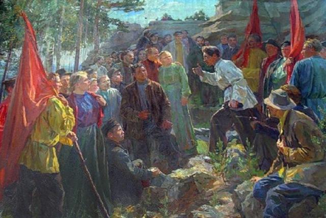 Как рыбинцы отмечали Первое мая в Первую русскую революцию
