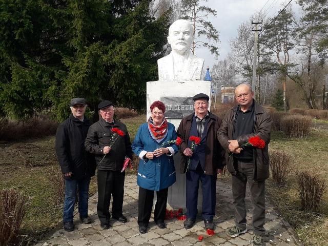 Коммунисты Первомайского района отметили День рождения В.И. Ленина