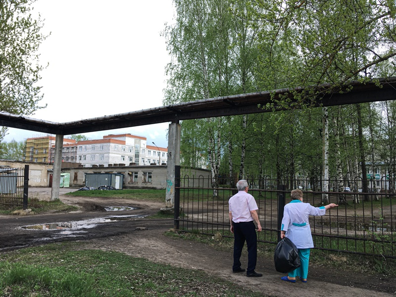 Александр Воробьев оценил качество подъездных путей к клинической больнице №2 г. Ярославля