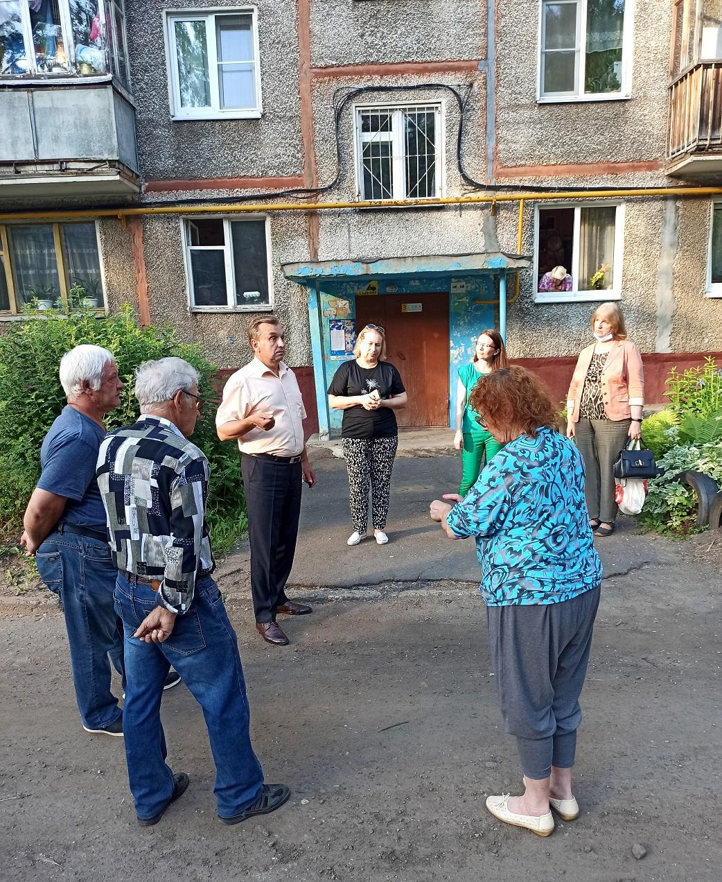 Валерий Байло встретился с жителями Брагино