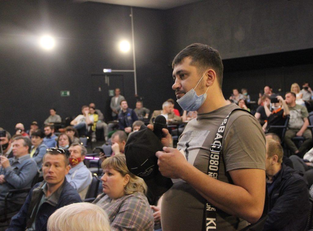 Дмитрий Миронов услышал ярославских пожарных