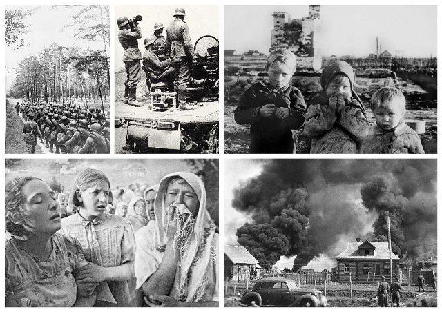 Я помню эту страшную для людей и страны дату 22 июня 1941 г.