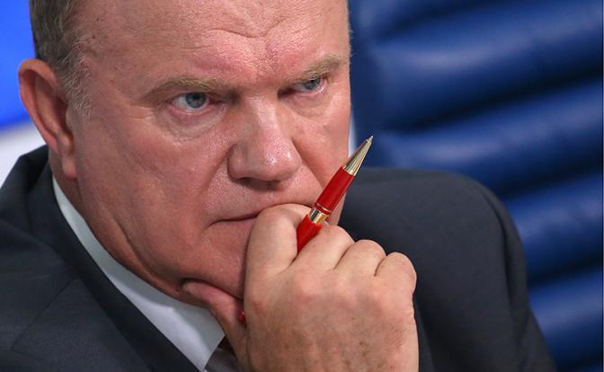Геннадий Зюганов: Протеже Кремля не в состоянии предложить программу вывода России из кризиса