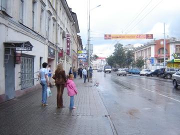 Без остановки на улице Комсомольской