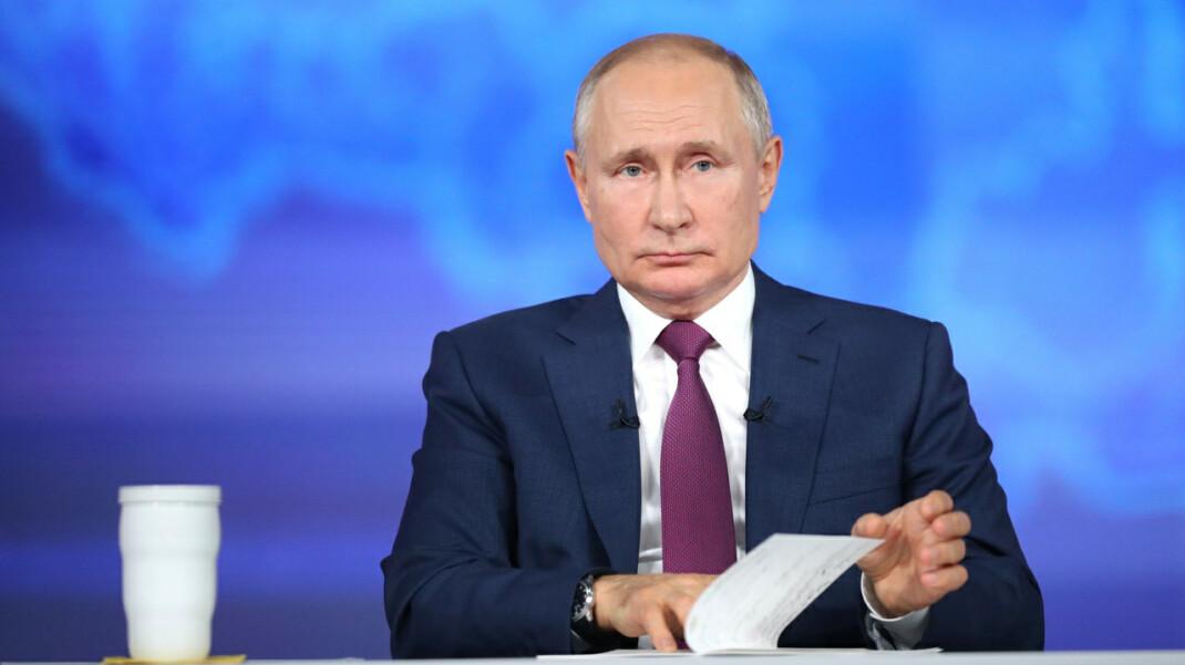 Проверка речи. Сколько раз Владимир Путин ошибся во время прямой линии