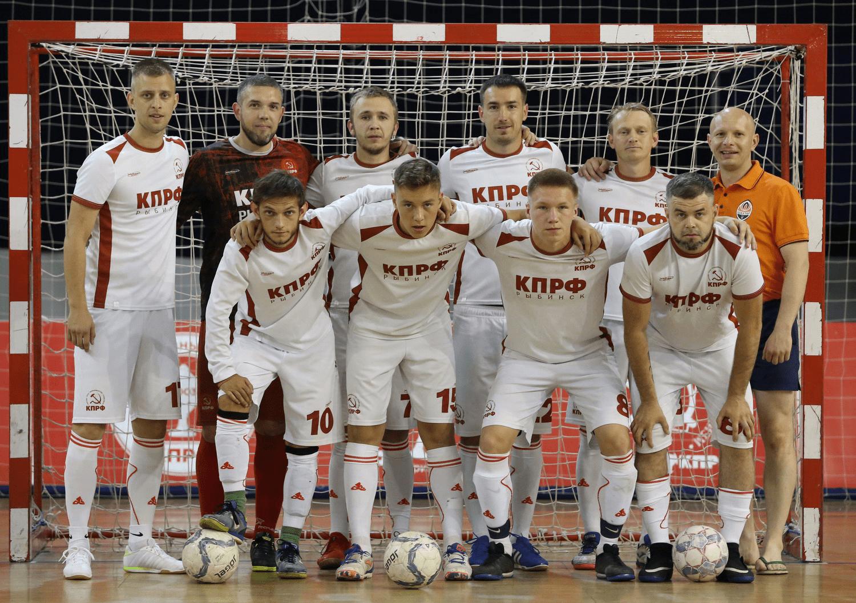 Рыбинская команда КПРФ выступила на Всероссийском турнире по мини-футболу «Таланты России»