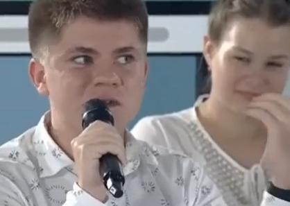 Школьник из Воркуты поправил Владимира Путина на открытом уроке