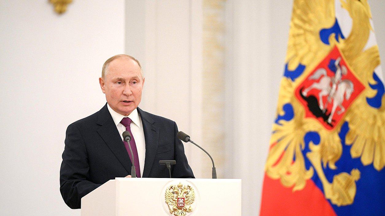 Состоялась встреча президента с депутатами Госдумы восьмого созыва