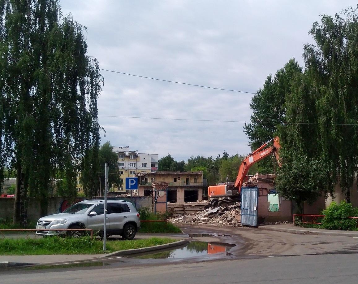 Квартиры строятся, а о троллейбусном депо забыли